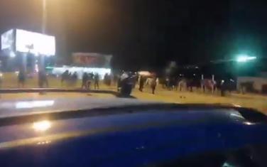 Sa blokade kružnog toka na Cijevni