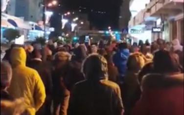 Sa protestne šetnje u Baru