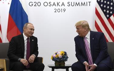 Putin i Tramp u Osaki ranije ove godine