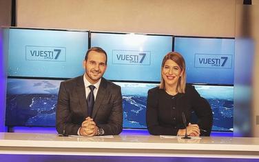 Ananije Jovanović i Jelena Ćorluka