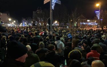 Sa protesta građana u Pljevljima