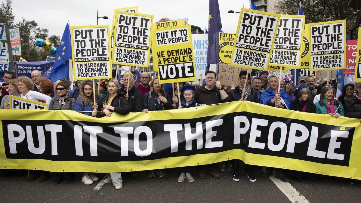 Masovni marš Britanaca protiv izlaska iz EU