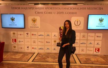 Bojana Gojković sa priznanjem u Vili Gorica