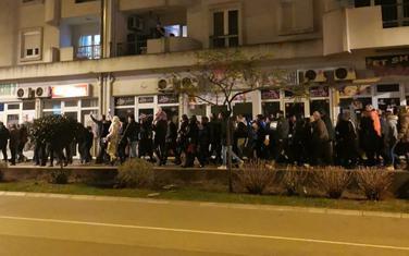 Sa protesta u Baru