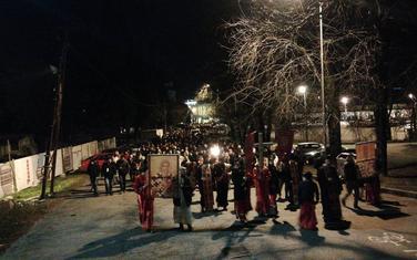Molitvena šetnja u Podgorici