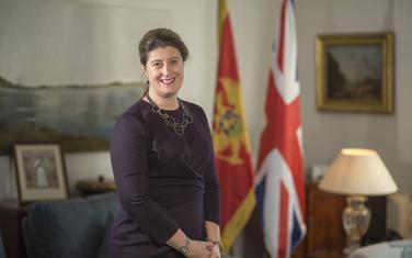 Britanska ambasadorka Alison Kemp