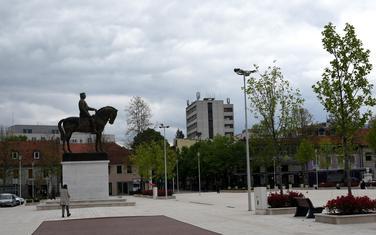 Trg slobode u Nikšiću