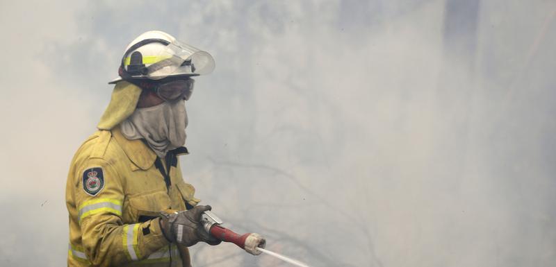 Australija, požar