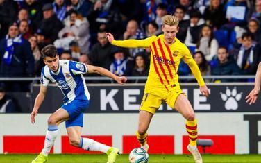 Sa meča Espanjol - Barselona