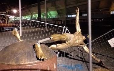 Statua Zlatana Ibrahimovića