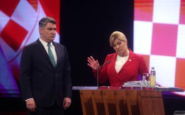 Sa suočeljavanja predsjedničkih kandidata: Milanović i Grabar Kitarović