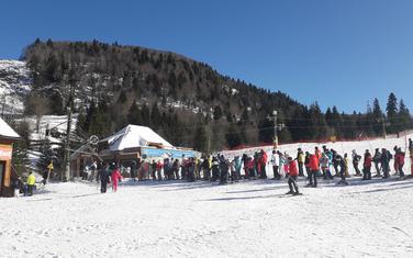 """Skijanje samo na jednoj stazi: """"Kolašin 1450"""""""