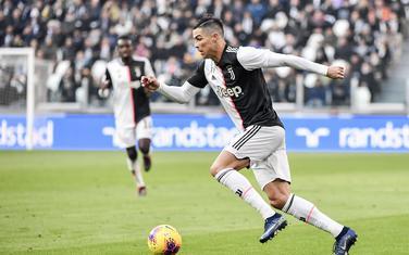 Ronaldo na meču sa Kaljarijem
