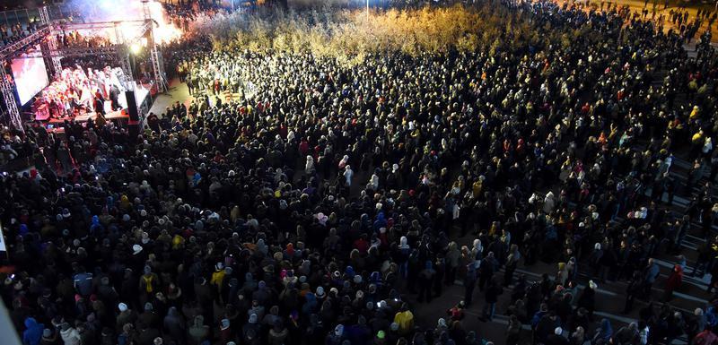 Večeras ispred Hrama u Podgorici