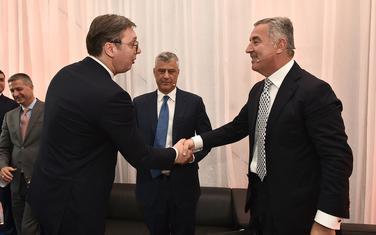 Vladavina prava i dalje među prioritetima: Vučić i Đukanović