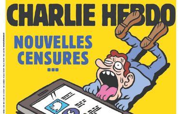 Naslovna strana novog broja nedjeljnika Šarli ebdo