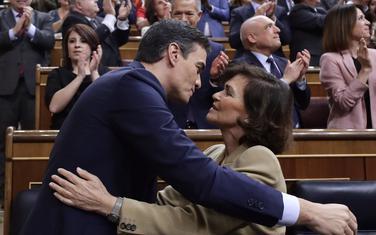 Pedro Sančes danas u parlamentu
