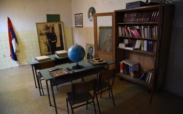 Detalj iz nekadašnjih učionica