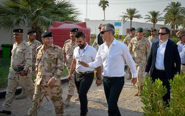 Stoltenberg prilikom posjete Iraku