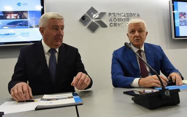 Sa konferencije u Privrednoj komori: Golubović i Marković