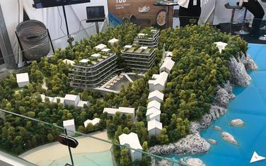 Maketa budućeg turističko-stambenog naselja na mjestu Kraljičine plaže -