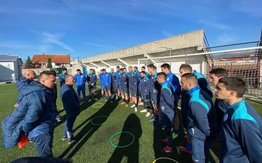 Fudbaleri Sutjeske na početku priprema za nastavak sezone