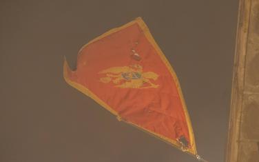 Zastava na Ambasadi u Beogradu