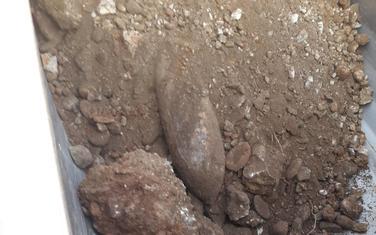 Pronađena bomba na obali Ribnice