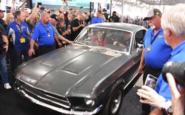 """Originalni """"ford mustang GT"""" koji je 1968. godine korišćen za snimanje filma """"Bulit"""""""