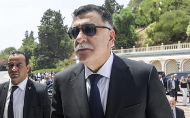 Predsjednik međunarodno priznate međunarodno priznata Vlade Libije Fajez al Saradž