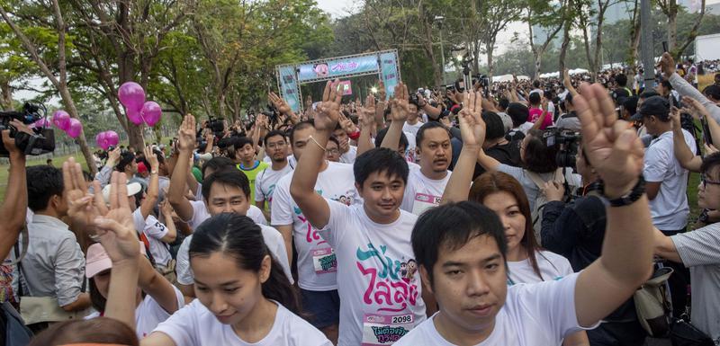 Protesti na Tajlandu