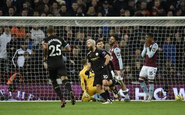 Aguero slavi prvi gol u Birmingemu