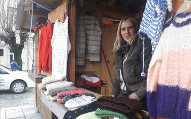 Sve od vune na štandu Marijane Rakočević