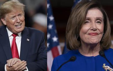 Tramp i Pelosi
