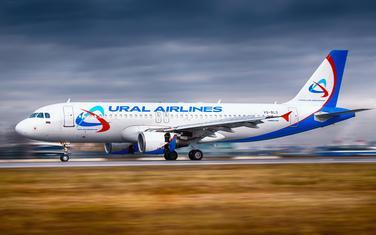 """""""Ural Airlines"""" (Ilustracija)"""