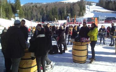 """Bez dana skijanja do polovine januara: Sa otvaranja sezone na Skijalištu """"Kolašin 1600"""""""