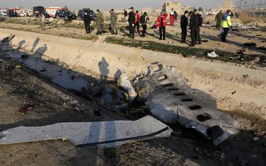 Dio srušenog aviona