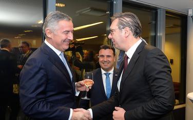 Đukanović i Vučić