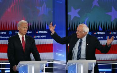 Bajden i Sanders