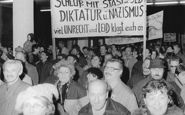 Demonstranti u centrali Štazija