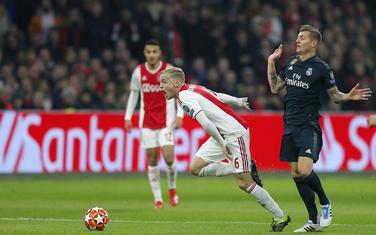Van de Bek na meču sa Realom prošle sezone