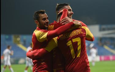 Crnogorski fudbaleri slave gol protiv Bjelorusije u novembru