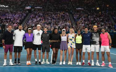 Teniski asovi u Melburnu