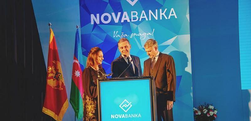Sa otvaranja Nove banke u Podgorici 2016. godine