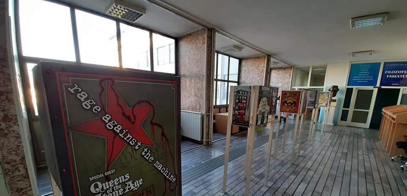 Posteri u holu FF