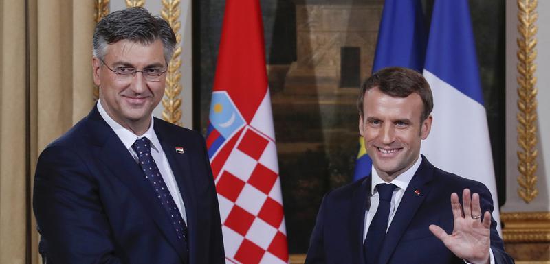Plenković i Makron