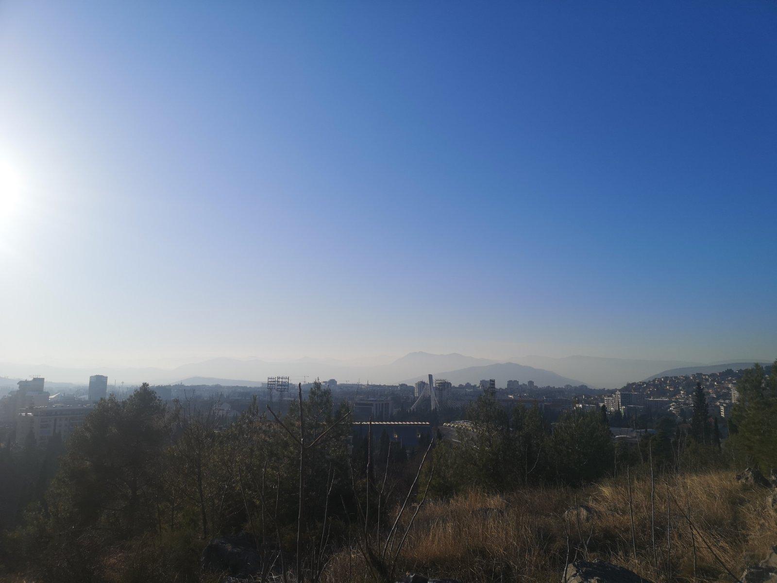 zagađenje vazduha Podgorica