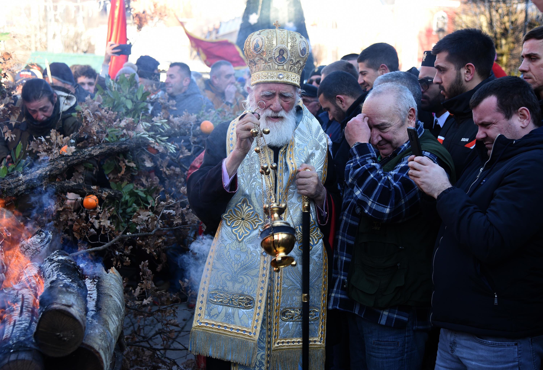 Mitropolit CPC Mihailo na Cetinju