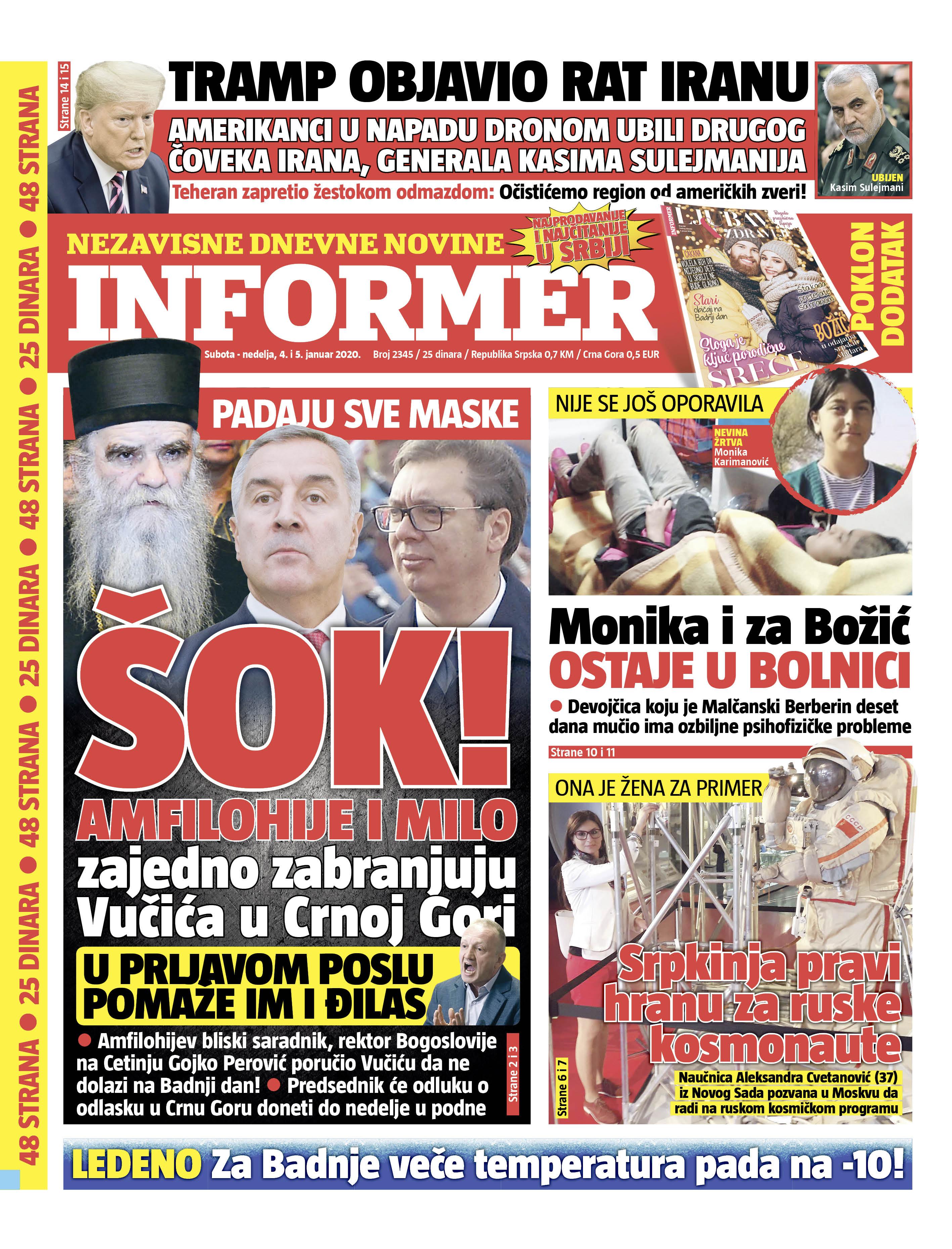 Naslovnica Informera