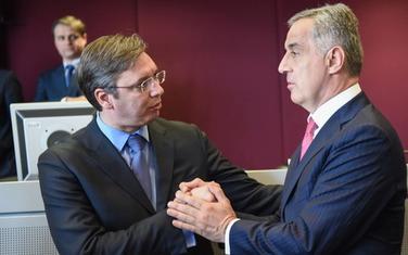 Predsjednik Srbije naglasio da sa Đukanovićem ima pristojne odnose
